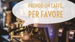 """""""Prendo un caffè, per favore"""" ist die höfliche Bestellung für einen Espresso"""