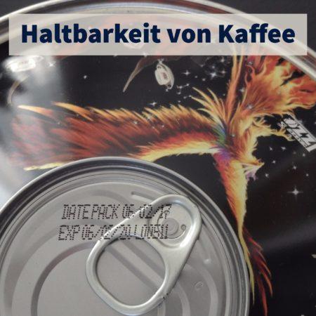 Metalldose schützt vor Sonnenlicht und verlängert Haltbarkeit des Kaffees