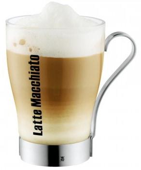 Latte Macchiato Glas mit Henkel von WMF